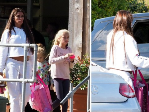 Katie Price grabs coffee and shops with children in break from rehab