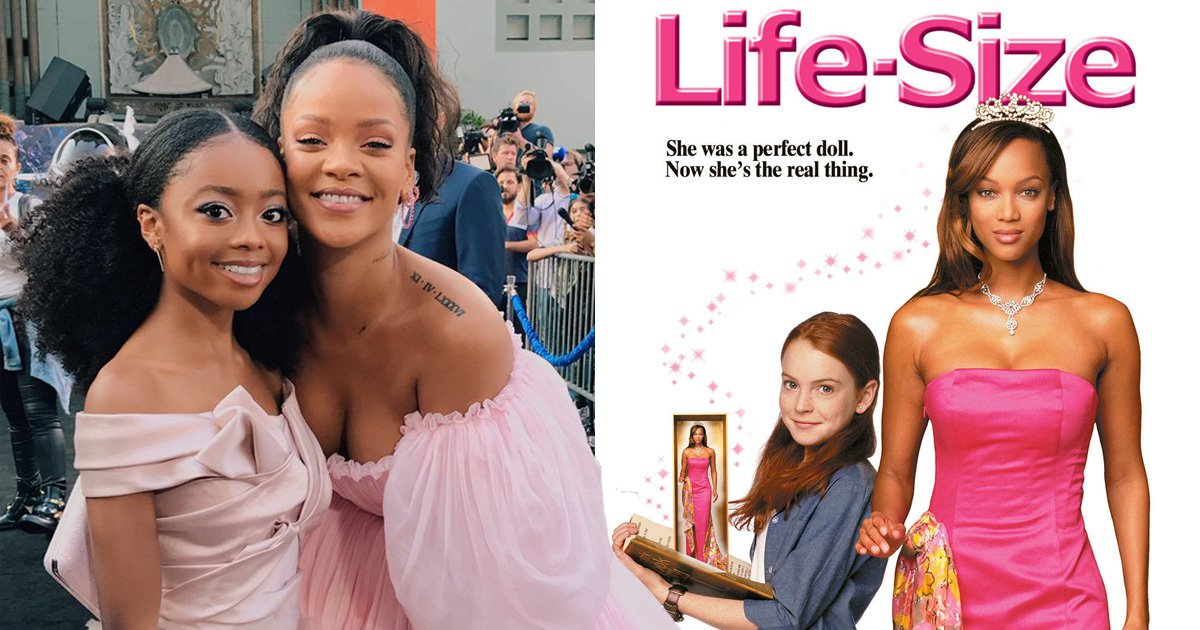 Skai Jackson and Rihanna create the 'Life-Size remake everyone deserves' and we can't argue with that