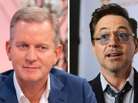 Jeremy Kyle's 'take down' of Avengers' Robert Downey Jr will make you actually like him