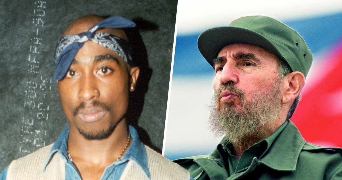 Tupac Shakur is alive and living in Cuba after being 'smuggled by Fidel Castro' says conspiracy theorist