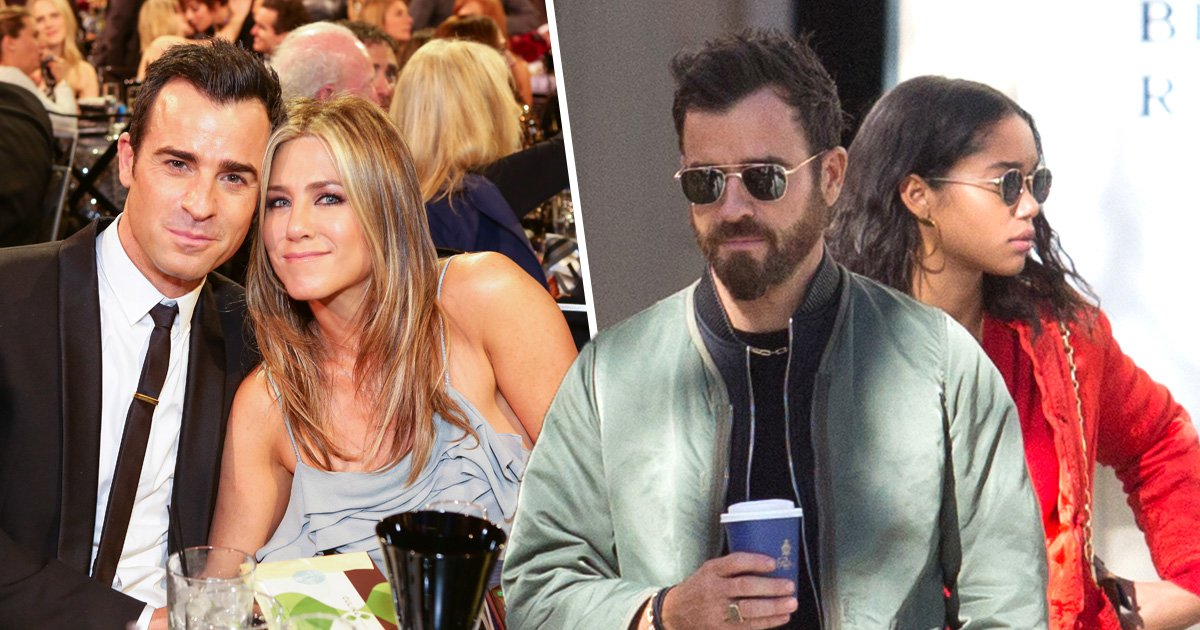 Justin Theroux enjoys Parisian day out with 'friend' Laura Harrier after 'heartbreaking' Jennifer Aniston split