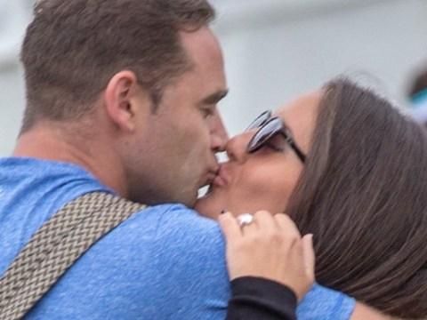 Kieran Hayler blasts engagement rumours as girlfriend Michelle pictured wearing huge diamond ring