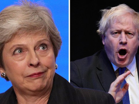 Theresa May takes swipe at Boris over 'f**k business' comment
