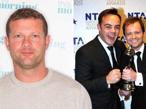 Dermot O'Leary would rather see Ant McPartlin 'get healthy' than win a National Television Award