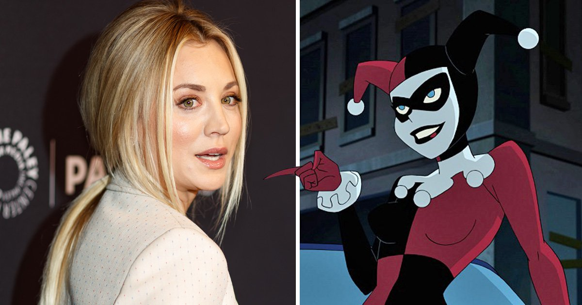 Big Bang Theory's Kaley Cuoco is voicing Harley Quinn in new DC TV show