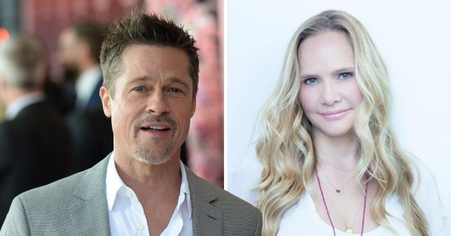 Image result for brad pitt and new girlfriend sat hari khalsa