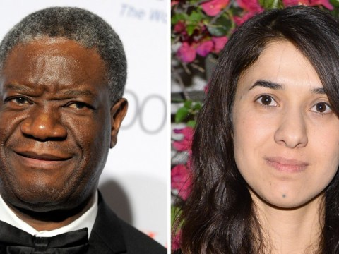 Nobel Peace Prize awarded to former sex slave and a doctor