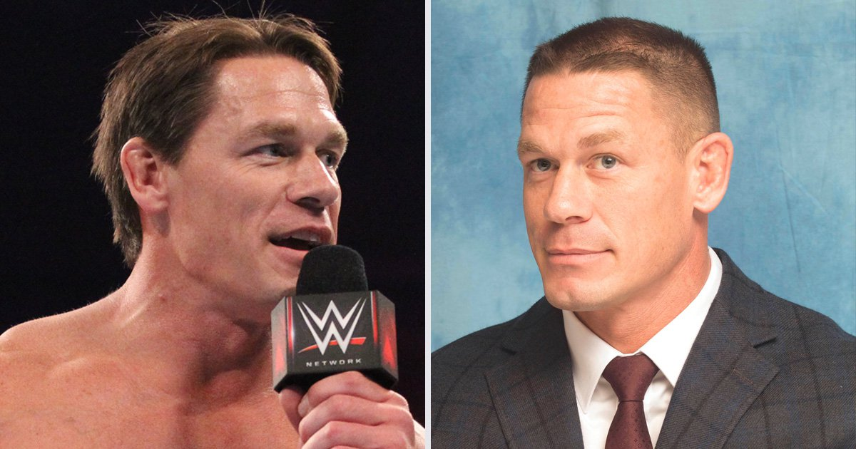 John Cena debuts new hair at WWE Super Show-Down and is the spitting image of JBL