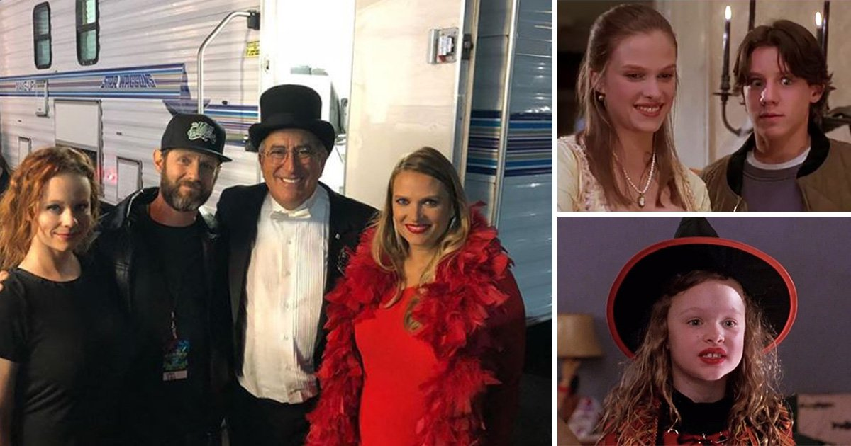 Hocus Pocus child stars reunite for 25th anniversary of the Halloween classic and yep, we feel old