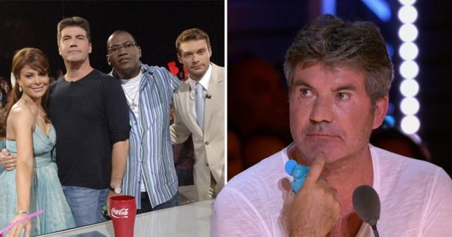 American Idol judges on X Factor