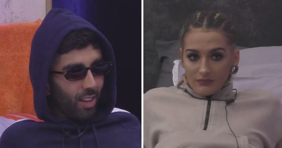 Big Brother's Brooke brands Hussain a 'w**ker' in dramatic row