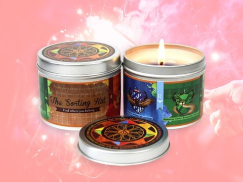 Colour changing Harry Potter candles will sort you into a Hogwarts house
