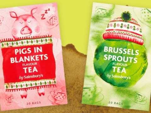 Sainsbury's launches Brussels sprouts and pigs in blankets flavour teas