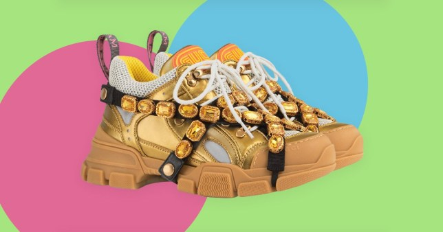 d9c1afe57 Gucci are selling £1000 trainers that 'look like a Caramac bar ...