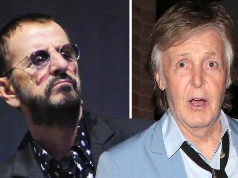 Ringo Starr missed out on group masturbation sessions with the Beatles because he came too late