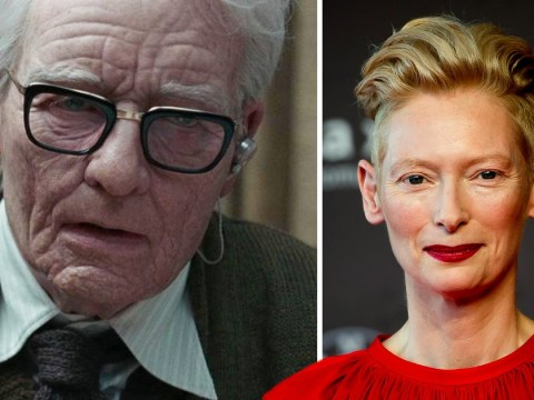 Tilda Swinton wore a prosthetic penis to play 82-year-old man in Suspiria