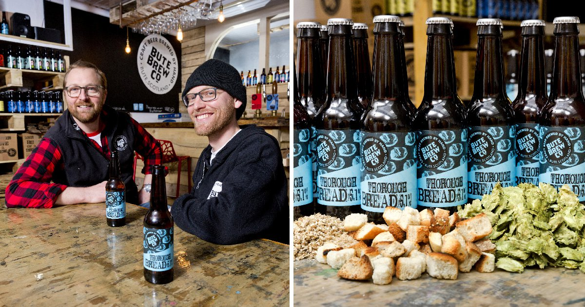 Brewery creates beer out of leftover bread to tackle food waste