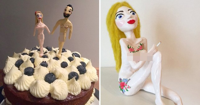You Can Buy A Naked Bride And Groom As Wedding Cake Toppers Metro News