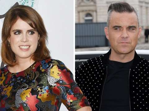 How do Robbie Williams and Princess Eugenie know each other ahead of royal wedding?