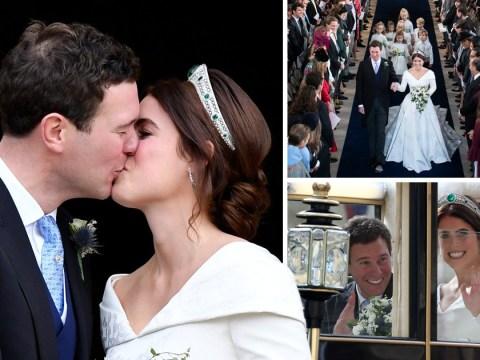 Princess Eugenie gets married to Jack Brooksbank at Windsor Castle