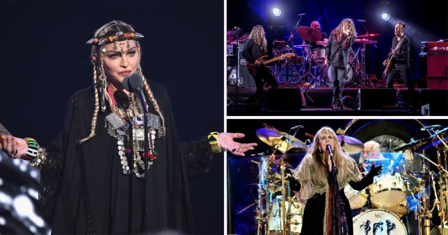 Glasto reportedly haven't booked Madonna, Fleetwood Mac or Led Zeppelin for 2019