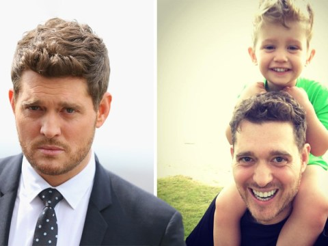 Michael Buble is not retiring after son's cancer battle