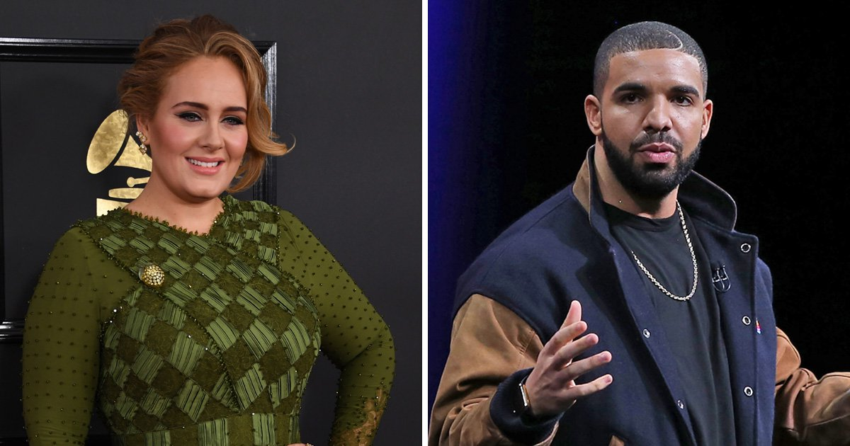 Adele loves herself some Drake and it's cute AF.