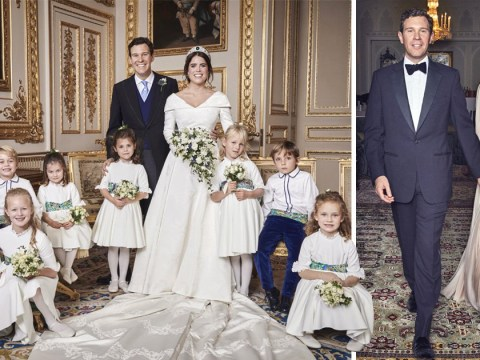 First official wedding pictures of Princess Eugenie and Jack Brooksbank