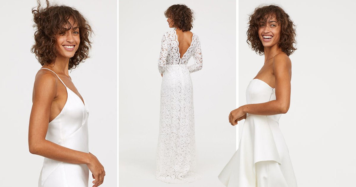 H&M releases new line of affordable, stunning wedding dresses