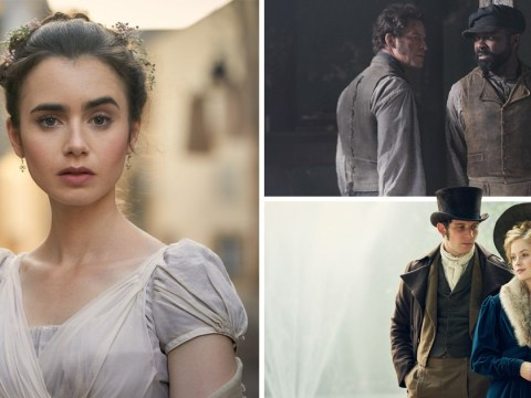 Lily Collins and Dominic West lead star-studded cast in new sneak peek of Les Misérables