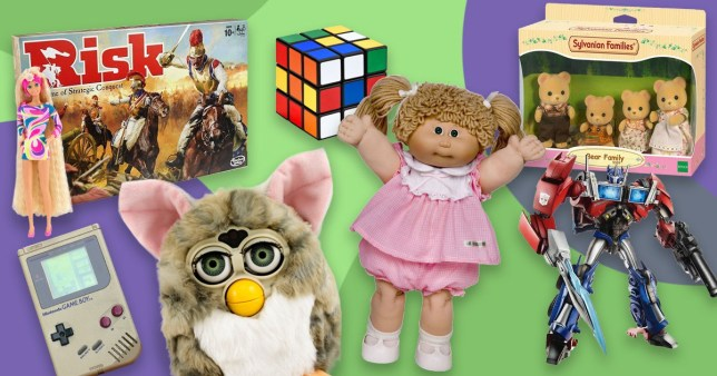 Argos have listed their best-selling toys of the last 45 years