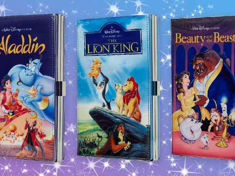 Disney is making clutch bags that look like old video tapes