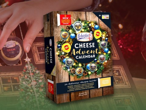 Sainsbury's and Asda launch a cheese-filled advent calendar