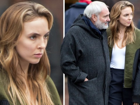 Killing Eve series 2: Jodie Comer looks tense on set as Villanelle surfaces