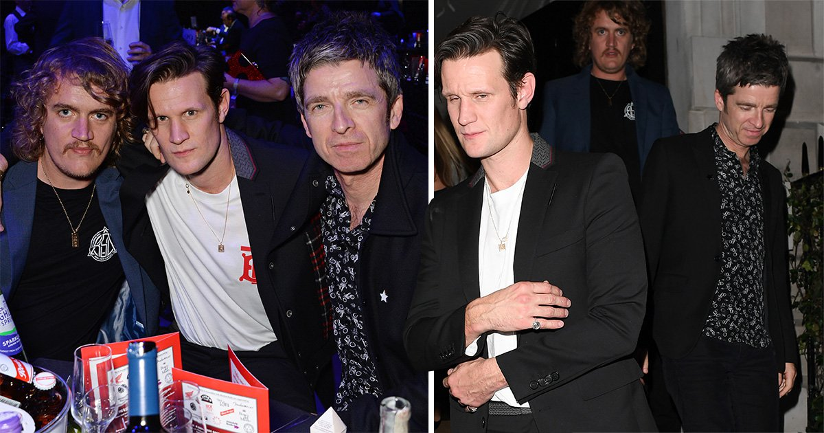 Noel Gallagher celebrates Q Awards win with Matt Smith and a bar crawl til 4am