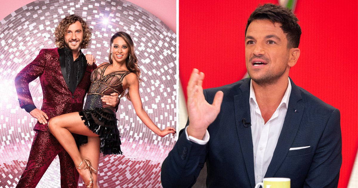 Peter Andre claims Strictly curse is 'used as an excuse' after Katya Jones and Seann Walsh kiss