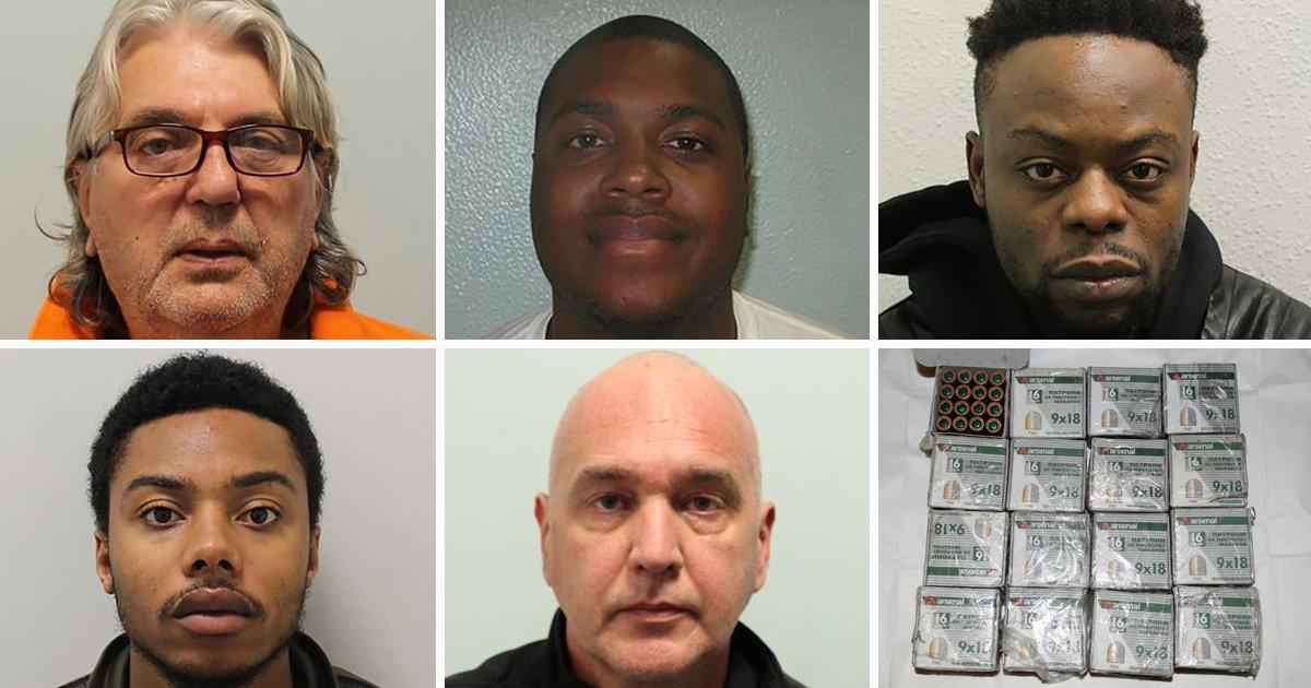 International gun smuggling ring jailed for 85 years