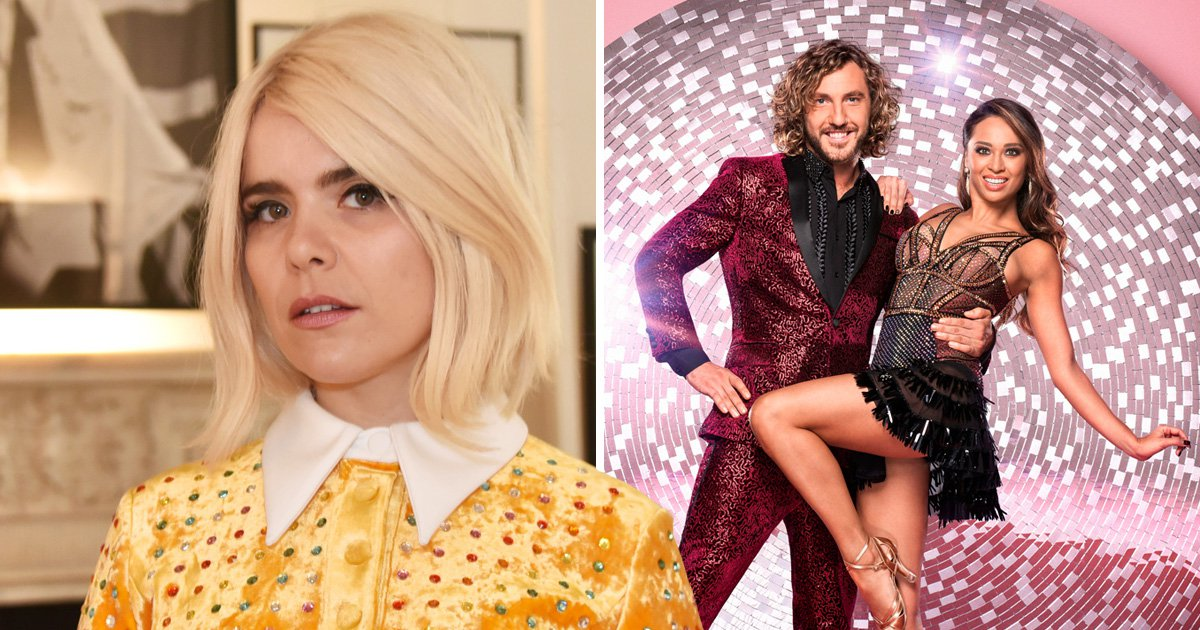 Paloma Faith criticises Strictly's Seann Walsh and Katya Jones ahead of singing 'ironic' song on live show