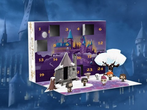 Funko releases Harry Potter advent calendar with Ron, Harry and Hermione Funkos