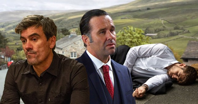 Graham and Cain know that Joe is dead in Emmerdale