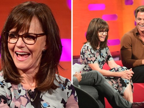 Sally Field schools Chris Pine on why the world is so fascinated by his penis