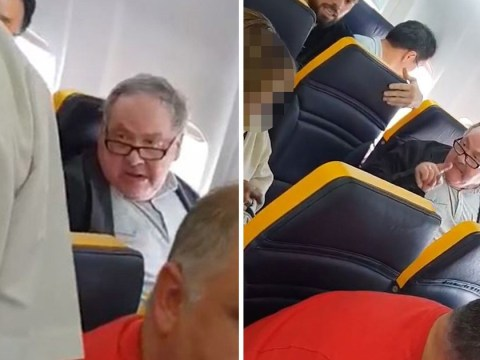 Man filmed hurling racist abuse at woman sat near him on plane
