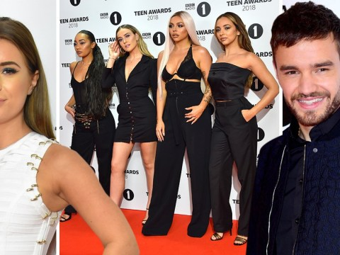 Little Mix look fierce on Radio 1 Teen Awards red carpet as they're joined by Love Island stars