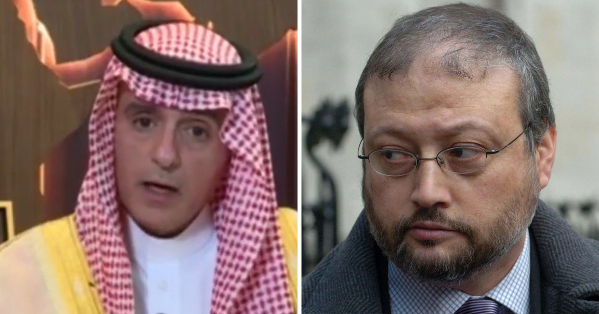 Saudi foreign minister says the death of journalist Jamal Khashoggi was a 'huge mistake'
