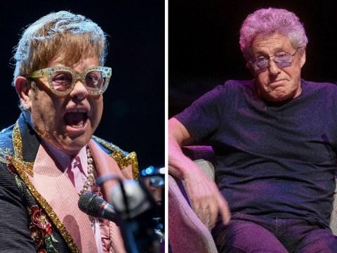 Elton John's feud with Roger Daltrey heats up as star denies charity snub