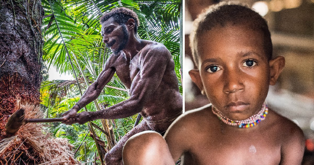 Ancient tribe on the brink of being wiped out by Christian missionaries