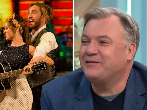 Katya Jones' former Strictly partner Ed Balls breaks silence over Seann Walsh snog: 'There's definitely a curse'