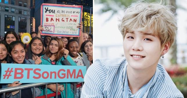 BTS' Suga defends fans over 'prejudice' against idol fans