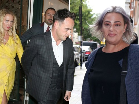 Lisa Armstrong likes tweet about 'girl code breach' after receiving 'legal warning to stop attacking Ant McPartlin's girlfriend