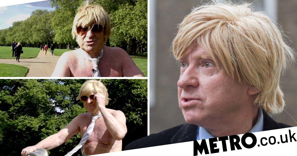 Tory MP shows his naked ambition with nude bike ride